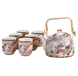 Chinese Tea Set Riverside - 6 cups