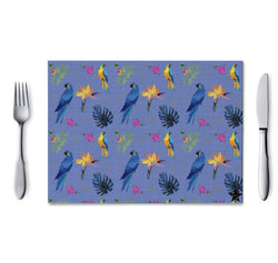 Placemat Parrot  L & A - 4 colours - - Shop Home decor, Kitchenware, Fragrances, Scents, and more online!