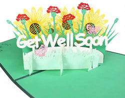 Greeting  Cards - Get Well Soon