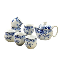 Chinese Tea Set Butterfly - 6 cups