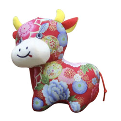 Plush Toy Chinese Ox - 20cm