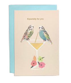 Greeting  Cards -  2 Birds