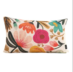 Cushion cover linen - Flowers