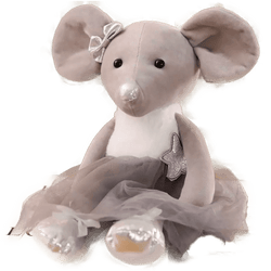 Plush Toy Ballerina Mouse - Shop Home decor, Kitchenware, Fragrances, Scents, and more online!