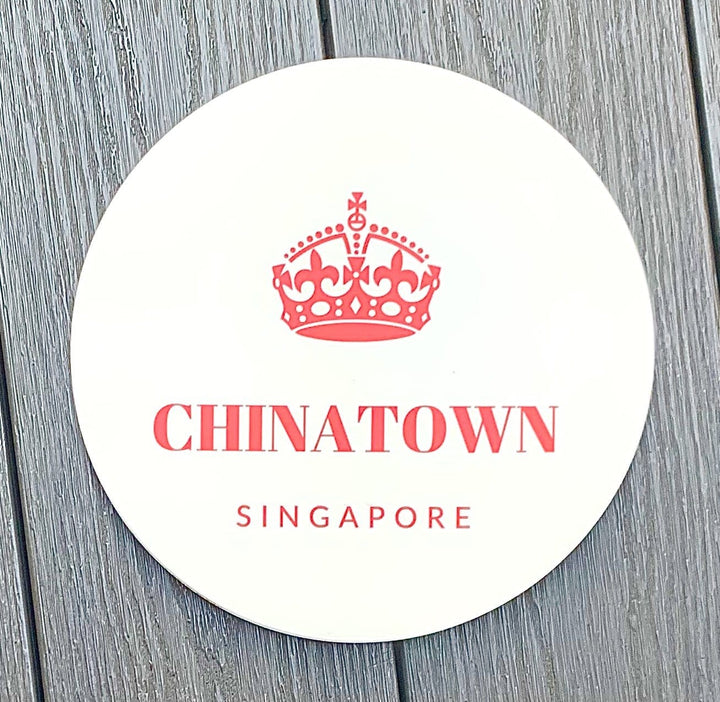 Singapore Districts Coasters - Shop Home decor, Kitchenware, Fragrances, Scents, and more online!