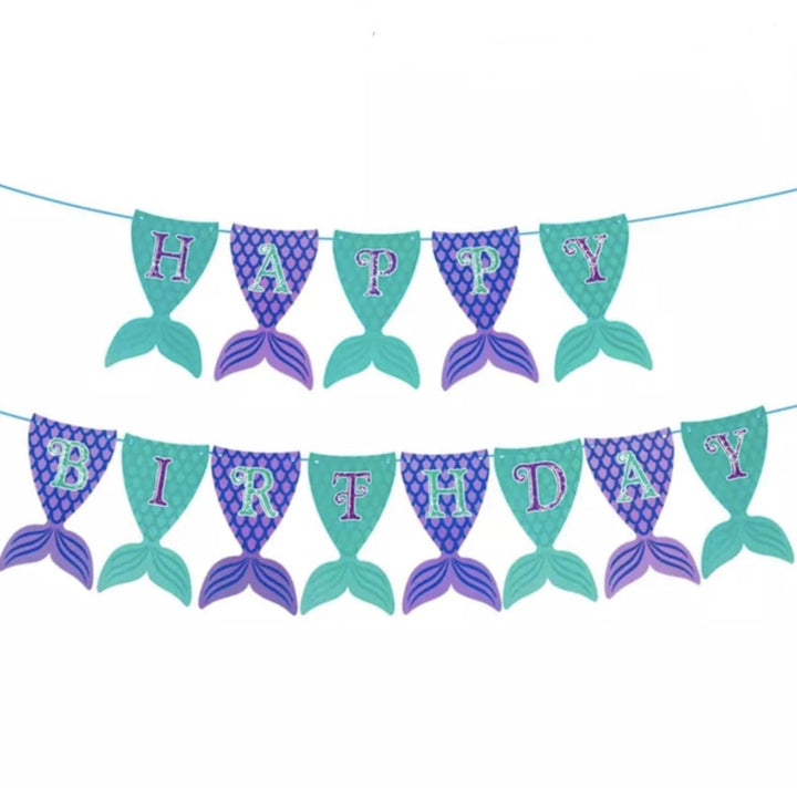 Paper Banner Mermaid - Shop Home decor, Kitchenware, Fragrances, Scents, and more online!