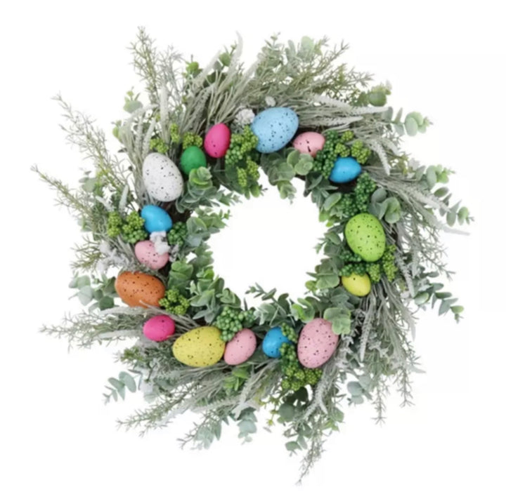 Artificial Flower - Easter Wreath Angelina