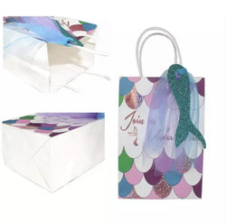 Gift Bags Mermaid 4 pcs - Shop Home decor, Kitchenware, Fragrances, Scents, and more online!