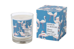 Candle Miami Flamingo - Shop Home decor, Kitchenware, Fragrances, Scents, and more online!