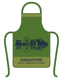 Singapore Skyline Apron - Shop Home decor, Kitchenware, Fragrances, Scents, and more online!