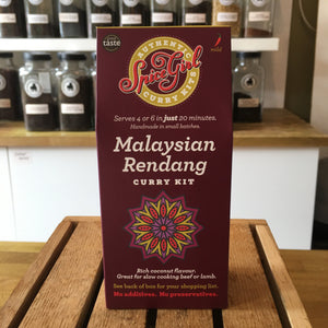 Rich coconut Malaysian rendang curry kit