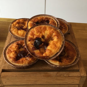 Scottish Clava brie & cranberry quiche