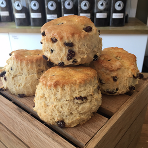 Mixed fruit scone