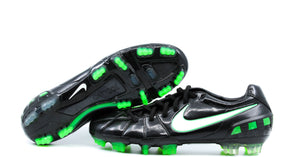 Nike T90 Laser 3 FG Black/Electric Green (385423-013)