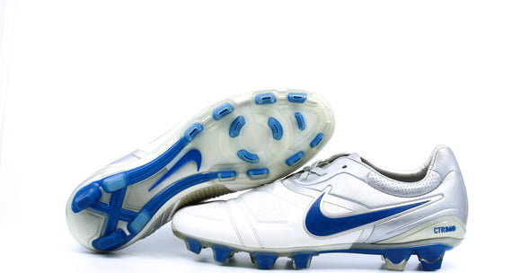 Nike CTR360 Maestri 1 FG White/Team Royal/Metallic Silver (366221-141)
