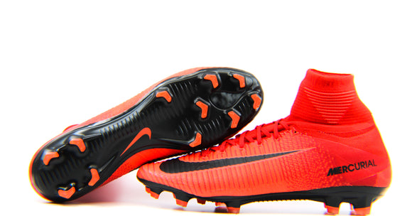 Nike Mercurial Superfly 5 FG University Red/Black (831940-616)