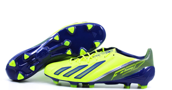 Adidas F50 Adizero Leather TRX FG Electricity/Hero Inc/Metallic Silver (Q33847)