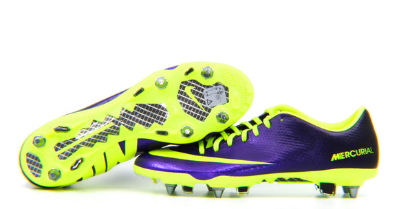 Nike Mercurial Vapor 9 SG Purple/Volt/Black (555607-570)