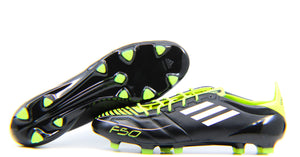 Adidas F50 Adizero TRX FG Leather Black/White/Electricity (U44295)