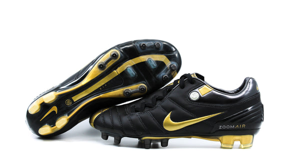Nike Air Zoom T90 Supremacy FG Black/Gold (313969-071)