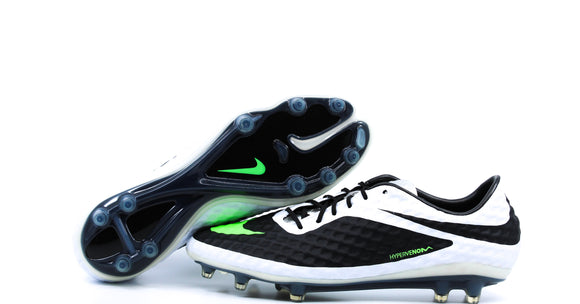 Nike Hypervenom Phantom 1 FG Black/Lime/White/Silver (599843-031)