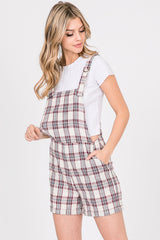 Jumpsuit With Check Print