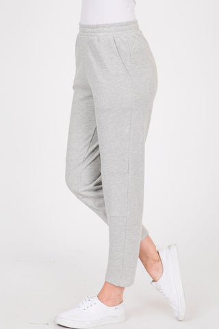 Soft Fleece Solid Fabric Reverse Knee Pointed
