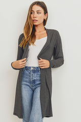 Striped Long Sleeves Cardigan