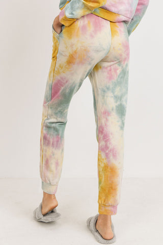 French Terry Tie Dye Jogger Pants