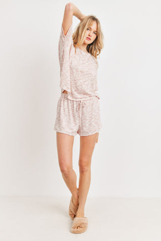 Short Sleeves Burnout Top
