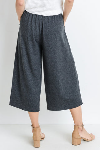 French Terry Wide Pants