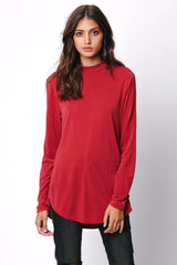 Curpo Mock Neck Top