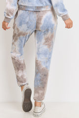 Baby Fleece Tie Dyed Jogger Pants