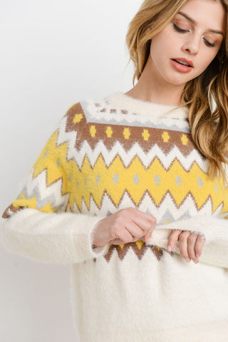 Chevron Pattern Sweater