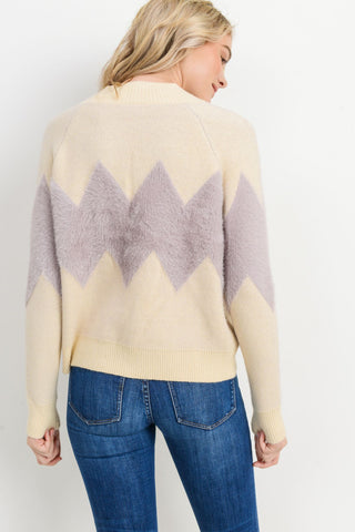 Knit Chevron Sweater