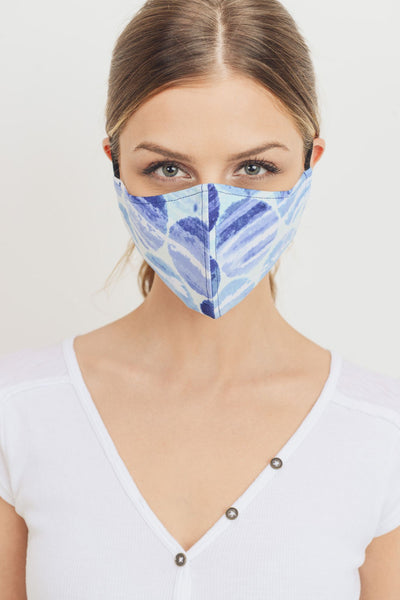 Printed Fashion Adjustable Elastic Ear Strap Mask