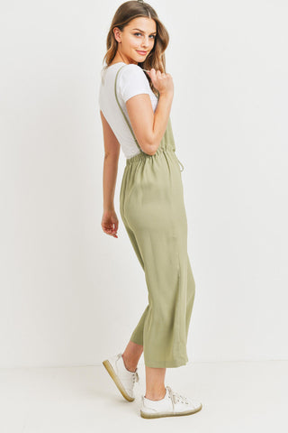 Low Back Spaghetti Jumpsuit