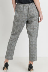 Patterned Knit Pants