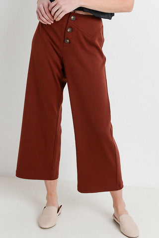 Knit Culottes Pants