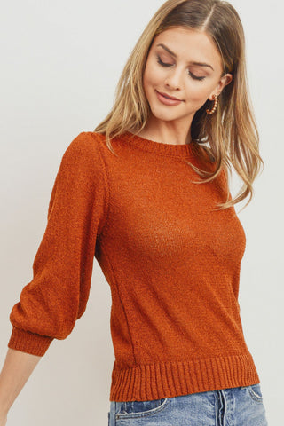 Elbow Sleeve Sweater