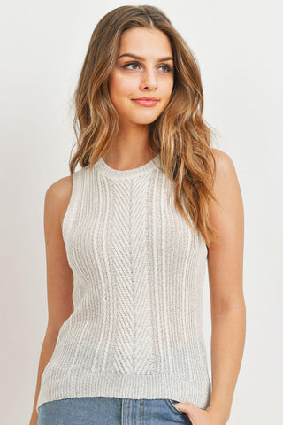 Hi Low Knit Cami