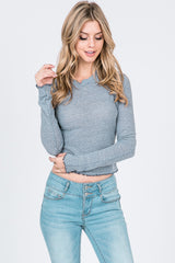 Mock Neck thermal Long Sleeves Top