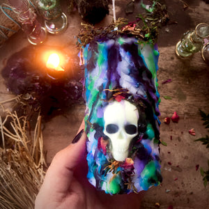 Zombie Love Mini Spell Candle