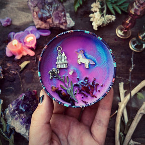 The Last Unicorn Candle
