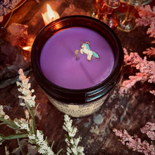 Load image into Gallery viewer, I am The Last Unicorn BookShelf Candle