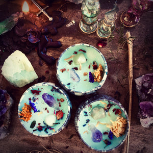 Age of Aquarius Candle for Liberation & Individuality
