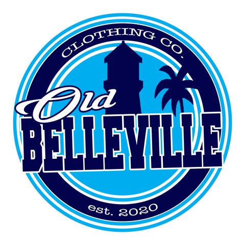 Old Belleville logo sticker