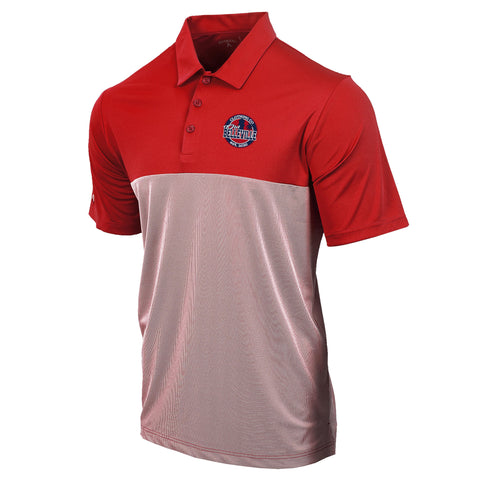 Old Belleville Golf Polo- Red
