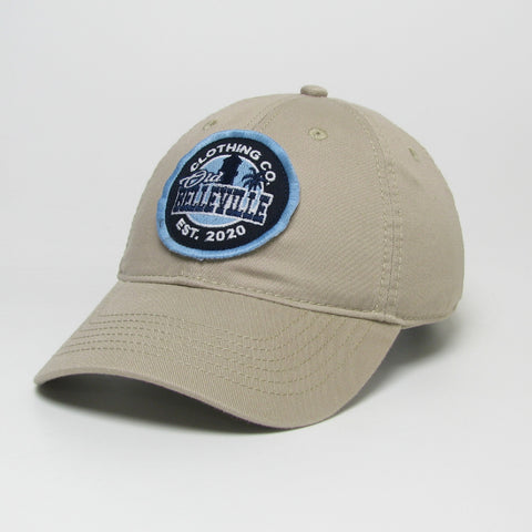Old Belleville logo hat- Khaki