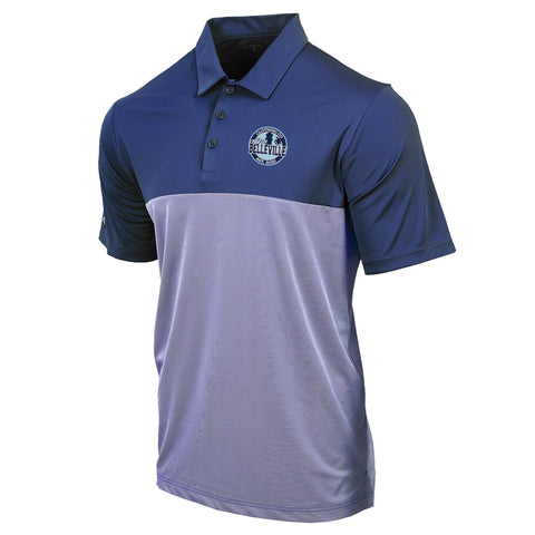 Old Belleville Golf Polo- Navy